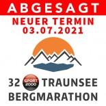ABSAGE 32. SPORT 2000 TRAUNSEE BERGMARATHON